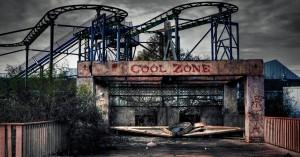 Finnes det noe mer creepy enn forlatte fornøyelsesparker? Tror ikke det.